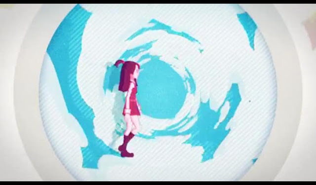 Second Screenshot from Little Witch Academia: Chamber of Time Opening Movie