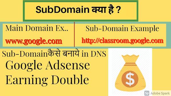 setup sub-domain in Blogger
