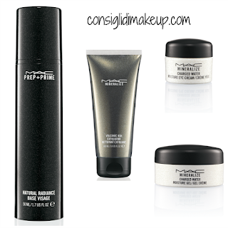 preview brant brothers mac cosmetics skincare scrub vulcanico gel idratante viso gel idratante occhi
