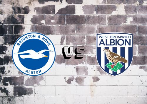 Brighton & Hove Albion vs West Bromwich Albion  Resumen