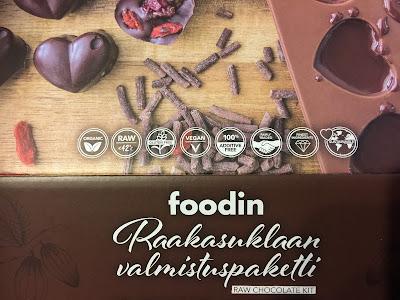 raakasuklaa, foodin, raw chocolate, easy, helppoa, nopeaa, muunneltavissa, monimuotoinen, monipuolinen, suklaa