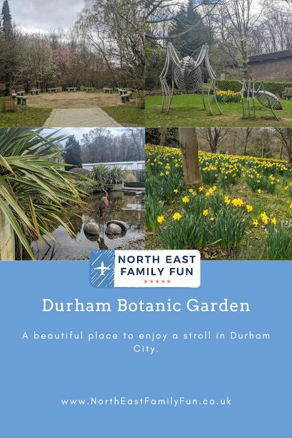 Durham Botanic Garden : Visitor Information