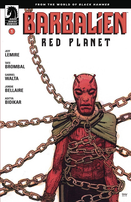 Cover of Barbalien Red Planet #1