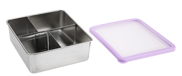 Pottery Barn Stainless Steel Bento Box