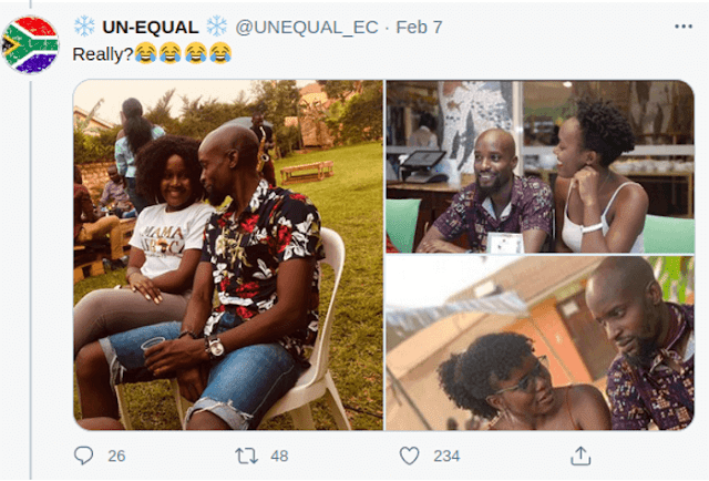 Ugandan Man pictured with many ladies