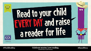 Read to your children every day and raise a reader for life