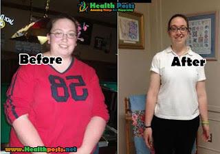 Alyssa Ann Heidemann, 34 years old    LOSS OF TOTAL WEIGHT: 65.5 kgs