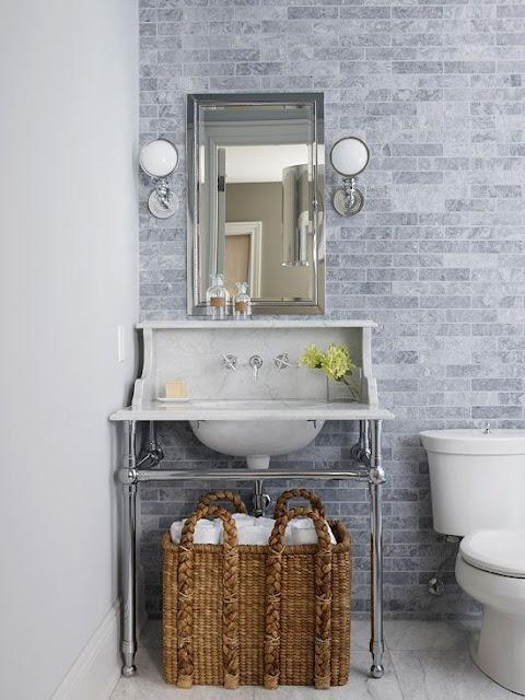 Bathroom Counter Design