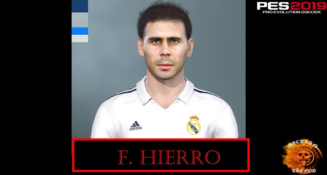 Fernando Hierro Face Pes 2019-2020 by MictlanTheGod