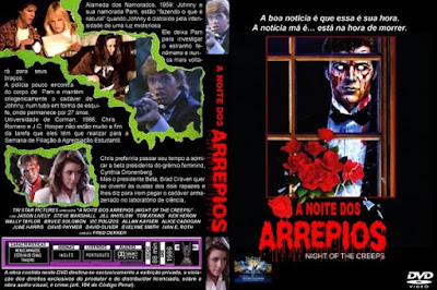 Filme A Noite Dos Arrepios (Night Of The Creeps) DVD Capa