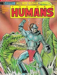 New Humans Annual - The Shattered Earth Chronicles
