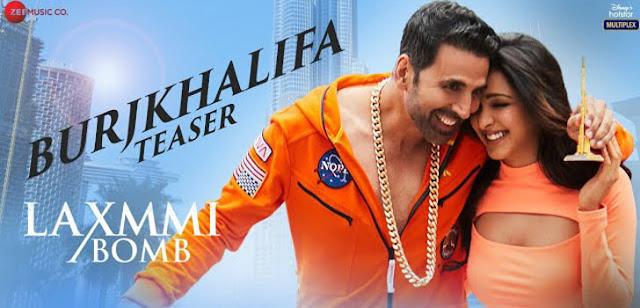 """बुर्जखलीफ़ा BurjKhalifa Lyrics in Hindi, English,Burjkhalifa   Laxmmi Bomb   Akshay Kumar,""""Burj Khalifa Lyrics""""'"""