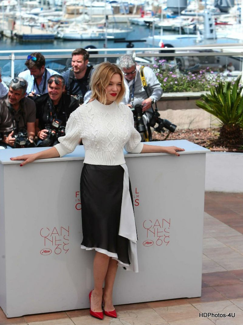 HQ Photos of Bond Girl Lea Seydoux At Juste La Fin Du Monde Photocall At 69th Annual Cannes Film Festival