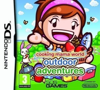 Rom Cooking Mama World Outdoor Adventures NDS