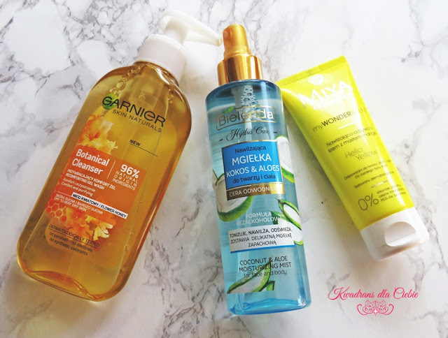 Garnier, Bielenda, MIYA Cosmetics