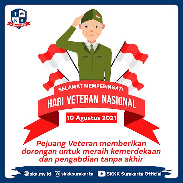 Hari Veteran Nasional Indonesia 10 Agustus 2021