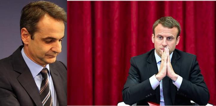 Γαλλική Προεδρία: Επενδύσεις και Αν. Μεσόγειος στην ατζέντα Μακρόν- Μητσοτάκη