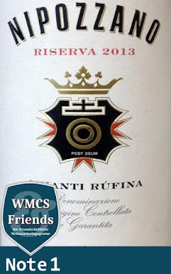 Frescobaldi Nipozzano Riserva Rosso DOCG 2013