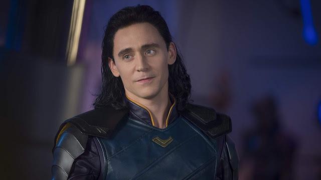 Loki em Vingadores: Guerra Infinita/Disney/Reprocução
