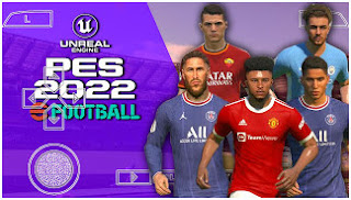Download PES 2022 PPSSPP ISO TM ARTS Camera PS5 Fix With New Update Tranfers & English Version Best Graphics