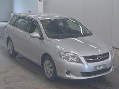 Toyota Corolla Fielder 2011 from Japan