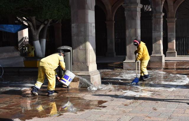 Comerciantes, ciudadanos y Municipio de Querétaro realizarán Jornada de Limpieza en el Centro Histórico