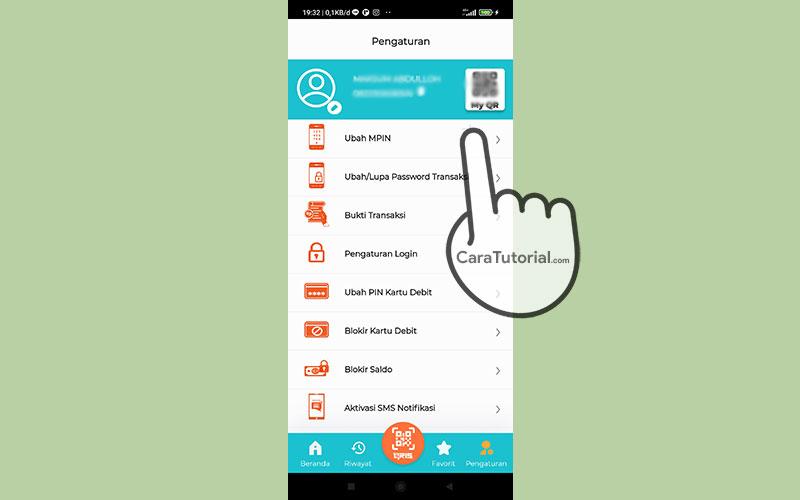 Pengaturan Aplikasi BNI Mobile Banking