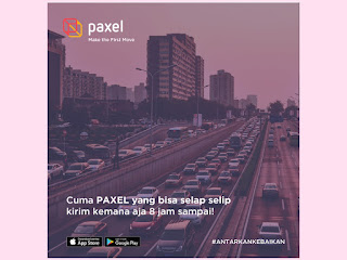 paxel kirim paket sampeday flat price