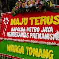 Polda Metro Banjir Karangan Bunga, Dukung Aksi Berantas Radikalisme