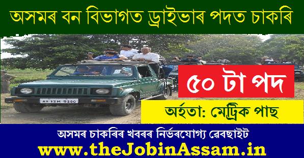 Forest department, Assam Recruitment 2020