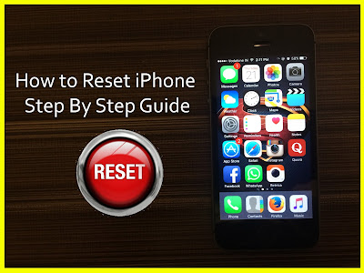 How to Reset iPhone - Step By Step Guide