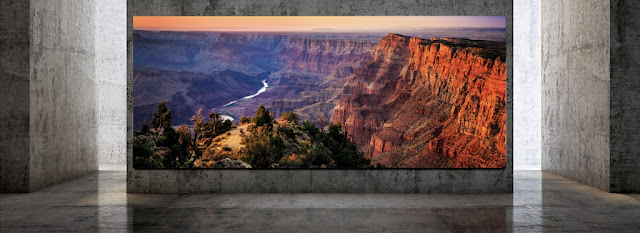A TV fit for a mansion
