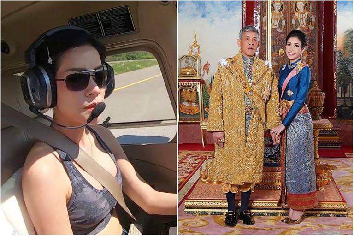 Foto Selir Thailand Di Sebarkan Pihak Kerajaan Di Thailand