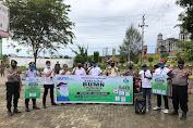 PTPN I Sosialisasi  AKB Dan Bagi Ribuan Masker