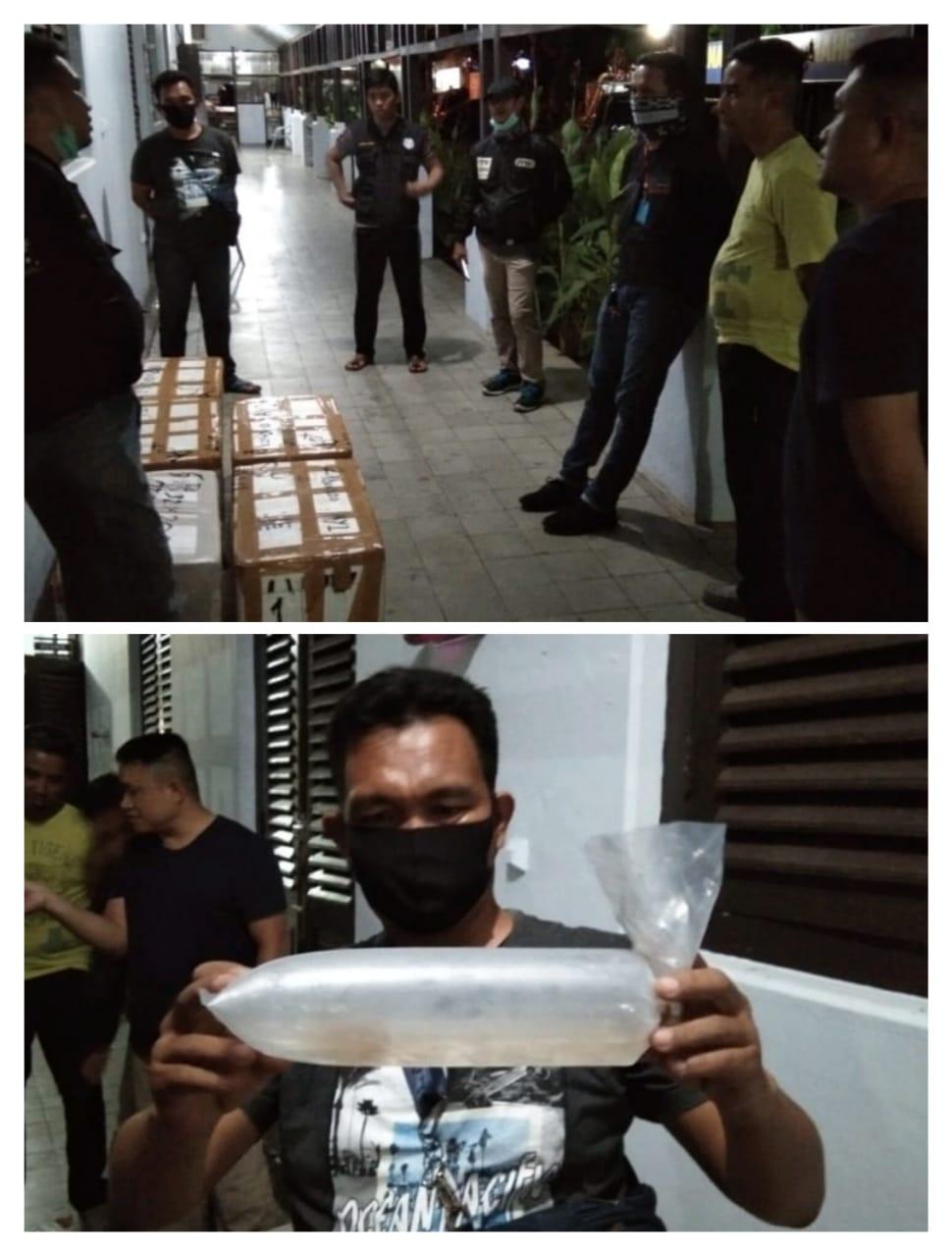 Penyelundupan 5 Box Sterofoam Yang  Berisikan Benih Baby Lobster Berhasil Digagalkan Oleh Ditpolairud Polda Jambi
