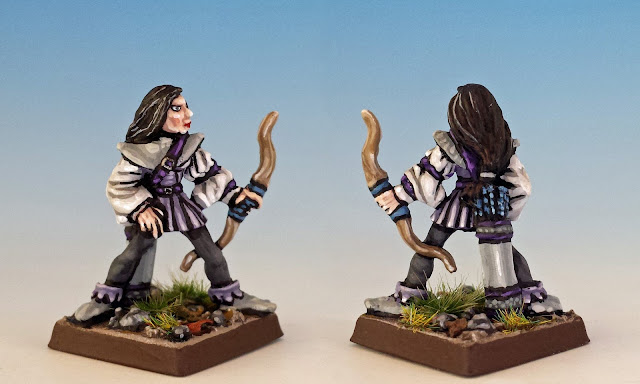 Riolta Snow painted miniature for Terror of the Lichemaster
