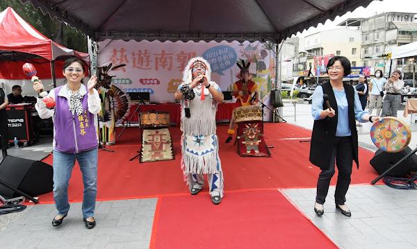 彰化藝術節前奏曲藝遊南郭 巨型海盜桶絢麗登場