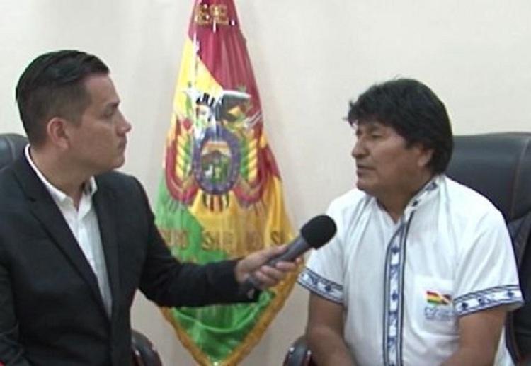 Desde el Gobierno se trata de señalar a Arias como un afín al MAS / CAPTURA GIGAVISIÓN