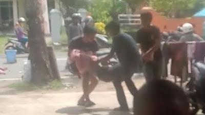 Belok Tak Nyalakan Lampu Sein, Dua Remaja di Bone Diseruduk Pemotor Lain dari Belakang