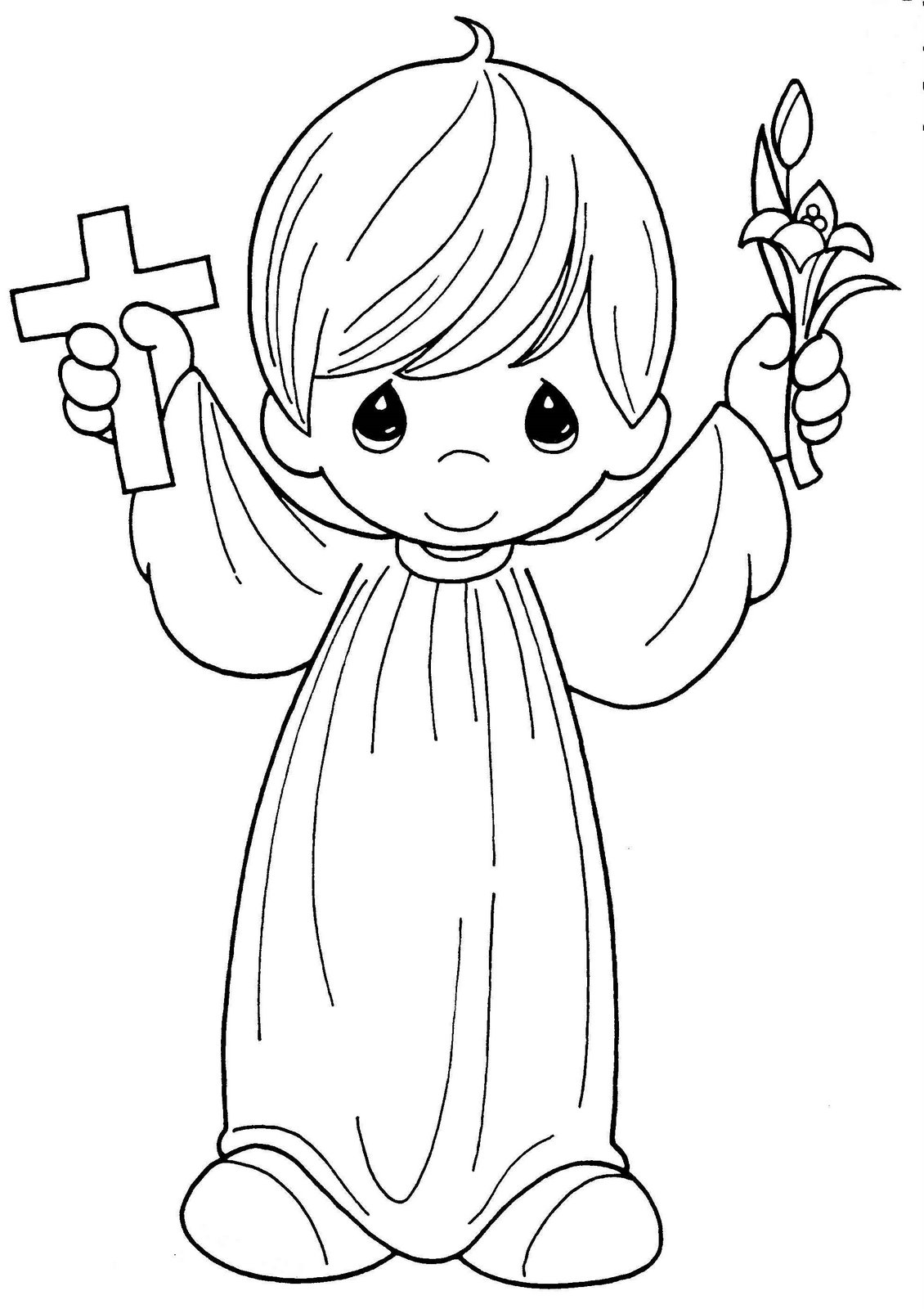 Precious Moments Boy Image For First Communion