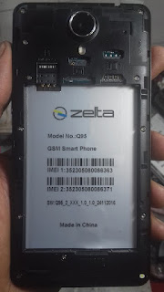 zelta q95 firmware 100% tested  without password