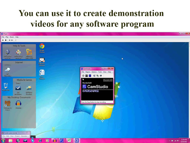 camstudio usage