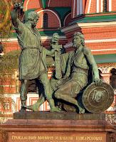 Monument Minin et Pozharsky a Moscou