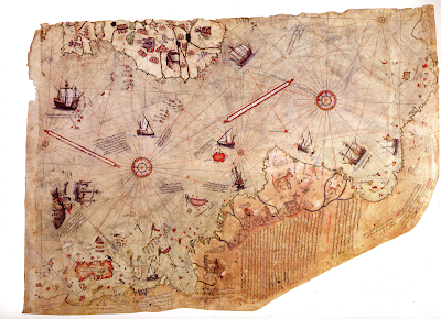 Turkish Admiral Piri Reis - Ancient Strange Map