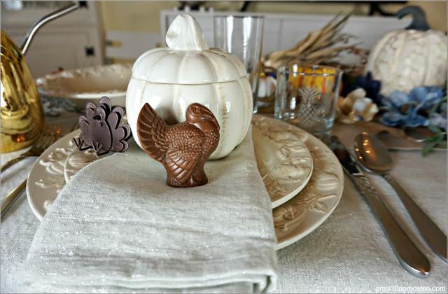 El Único Pavo Comestible en Nuestra Mesa de la Cena de Acción de Gracias