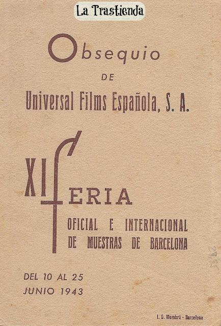 Programa de Cine - Mares de Java - Charles Bickford - Elisabeth Young