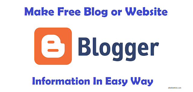 How to Make Free Blog and Earn Money