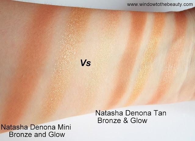 Natasha denona bronzers swatches