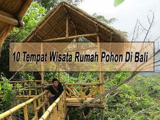 Inilah 10 Tempat Wisata Rumah Pohon Di Bali