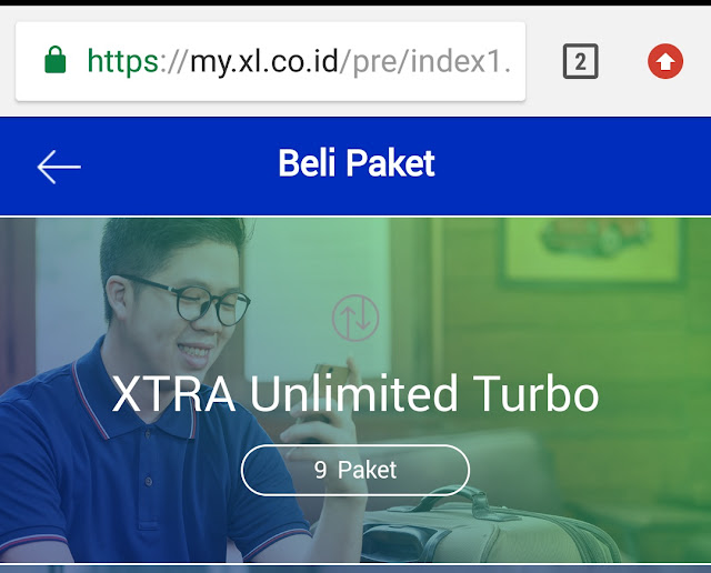 Cara Daftar Xtra Unlimited Turbo